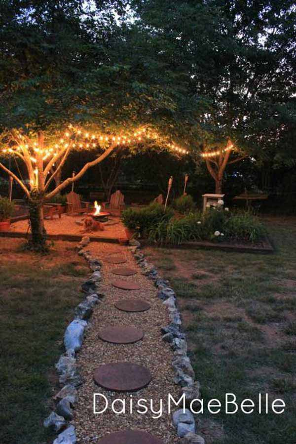 41 Ingenious and Beautiful DIY Garden Path Ideas To Realize in Your Backyard homesthetics backyard landscaping (42)