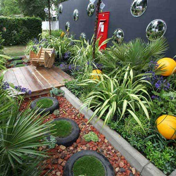 41 Ingenious and Beautiful DIY Garden Path Ideas To Realize in Your Backyard homesthetics backyard landscaping (6)