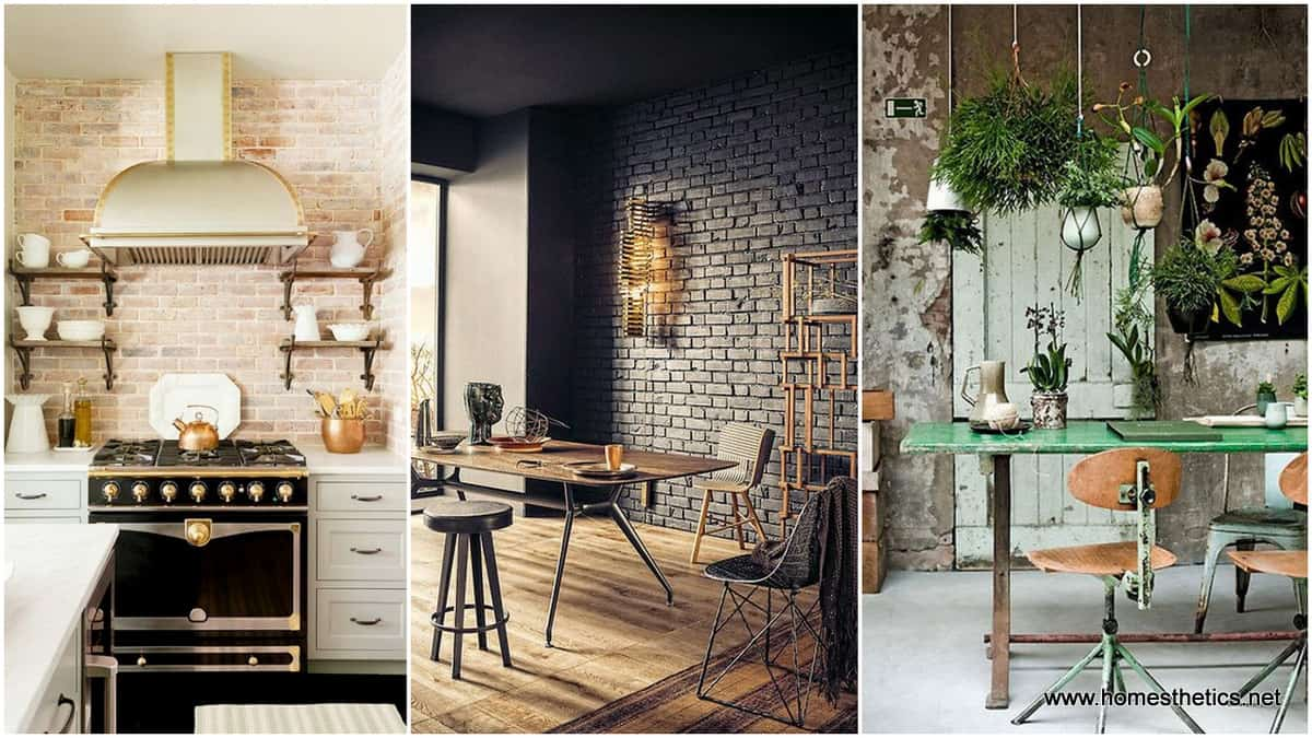 Add Warmth And Coziness To Your Home With Exposed Brick Walls