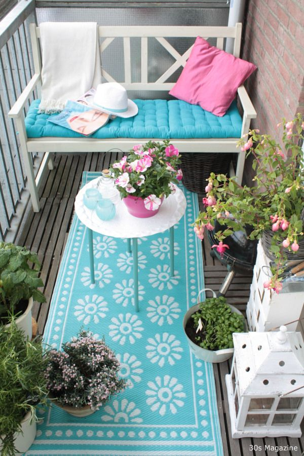 DIY Weekend Project-How To Transform Your Balcony Into A Green Oasis (3)