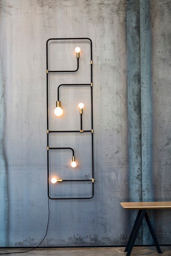 industrial design lighting fixtures. Industrial Design Piece In An Decor. Elegant Sculptural Lighting Fixtures
