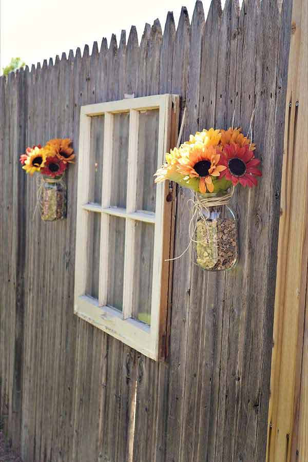 Get Creative With These 23 Fence Decorating Ideas and Transform Your  Backyard homesthetics design (11