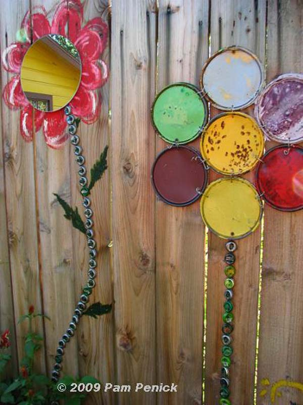 Get Creative With These 23 Fence Decorating Ideas And Transform Your Backyard Homesthetics Design 13