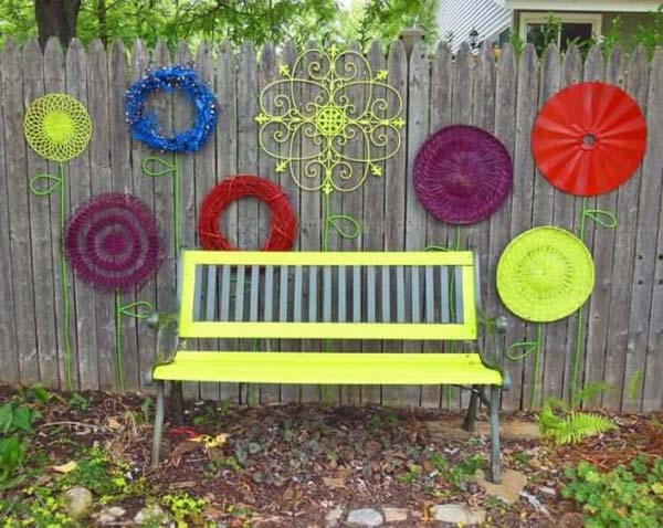 Outdoor Wall Decor Ideas Elegant Awesome Kitchen Designs Fence Decoration Backyard Decorations Interior