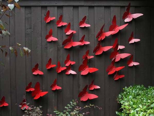 Get Creative With These 23 Fence Decorating Ideas and Transform Your Backyard homesthetics design (6 & Get Creative With These 23 Fence Decorating Ideas and Transform Your ...