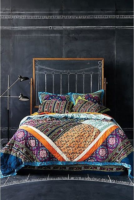 Get Inspired From Bohemian Chic Interior Designs-homesthetics.net (3)