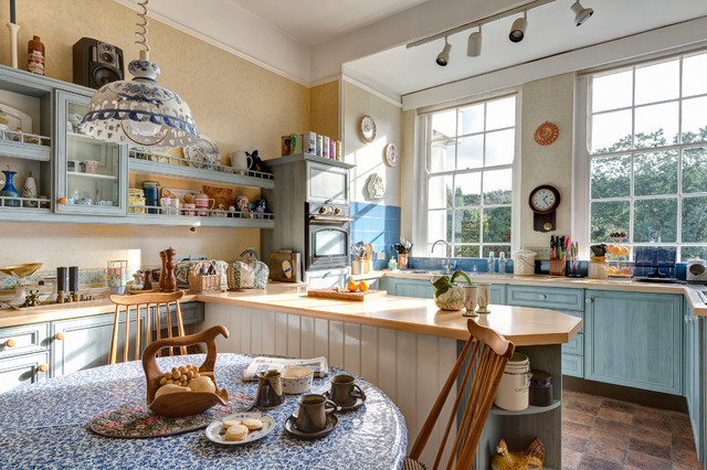 Timeless Design Nestled in 18 Traditional Kitchen Designs Today homesthetics (15)