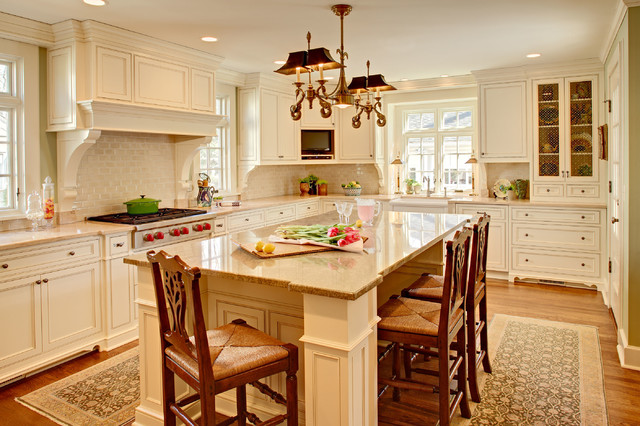 traditional kitchen design large timeless design nestled in 18 traditional kitchen designs today homesthetics 4