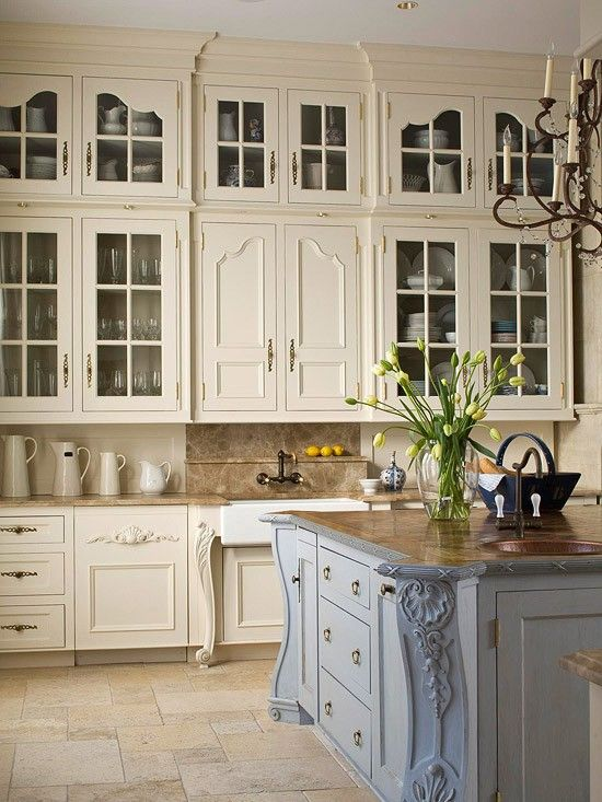 Top 30 Charming French Kitchen Decor Inspirational Ideas