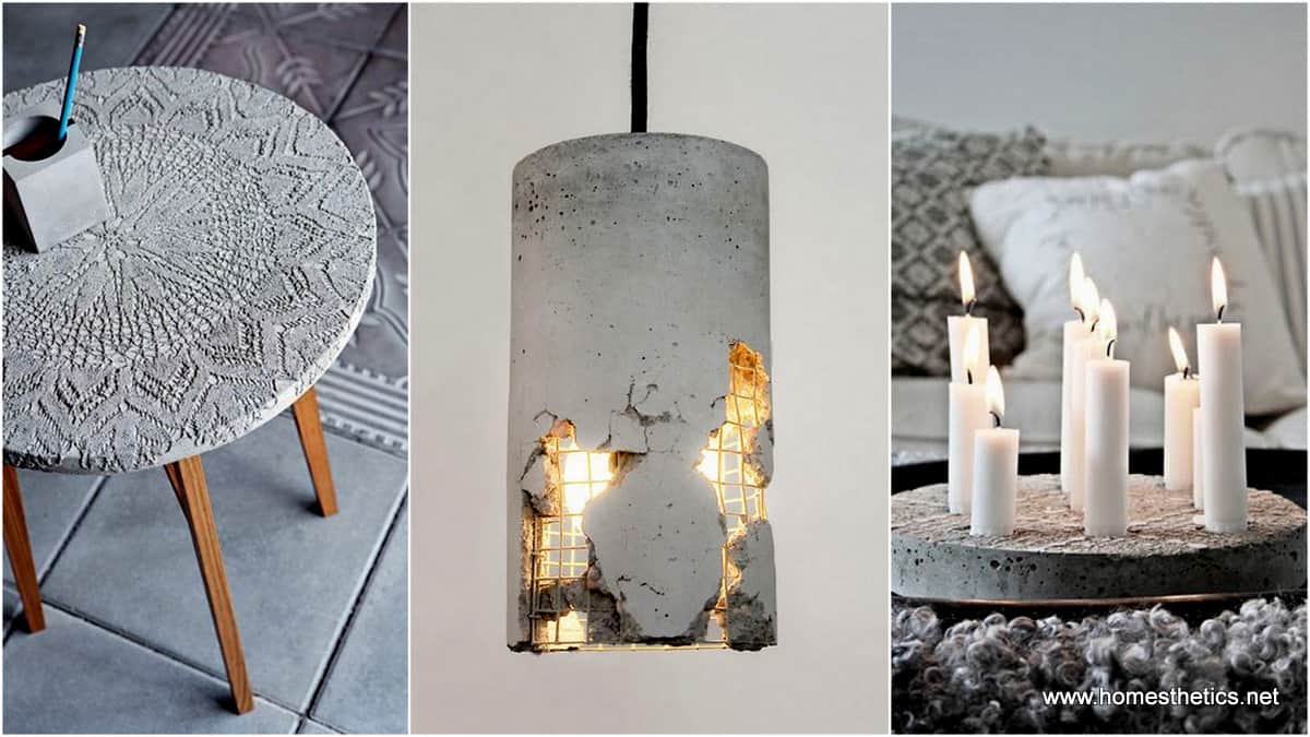 15 diy concrete ideas for a chic minimal design solutioingenieria Gallery