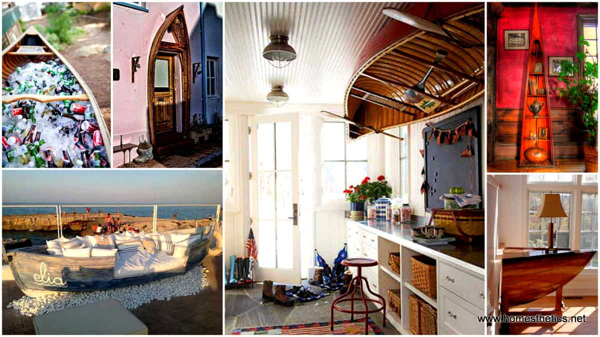 1 15 Insanely Beautiful and Creative Ways to Reuse Old Boats in Design