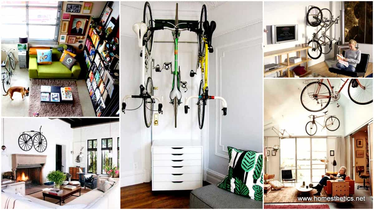 1 30 Design Ideas on How to Decorate With Bikes in Your Household