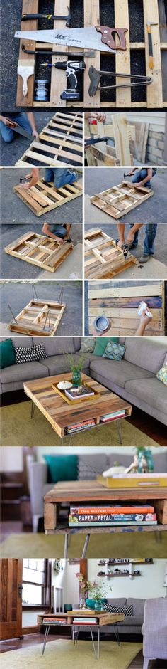 15 Beautiful Cheap DIY Coffee Table Ideas-homesthetics (2)