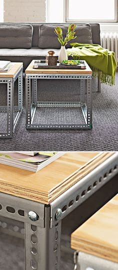 15 Beautiful Cheap DIY Coffee Table Ideas