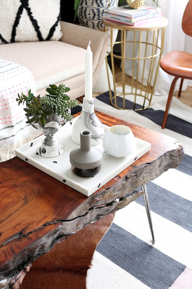 15 Beautiful Cheap DIY Coffee Table Ideas-homesthetics (9)