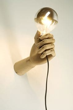 #8 create wall lighting fixtures infused with ingenuity