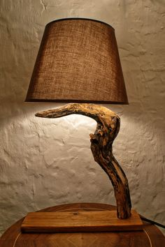 #10 rebuild broken lamps with Sculptural wooden textures
