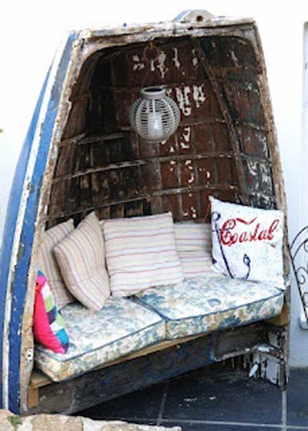 15 Insanely Beautiful and Creative Ways to Reuse Old Boats in Design homesthetics decor (10)