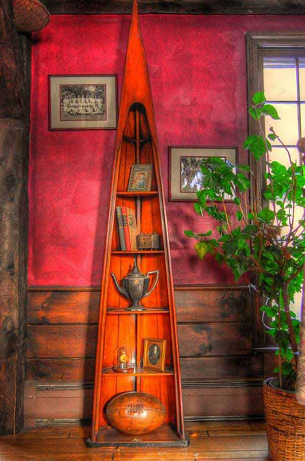 15 Insanely Beautiful and Creative Ways to Reuse Old Boats in Design homesthetics decor (3)