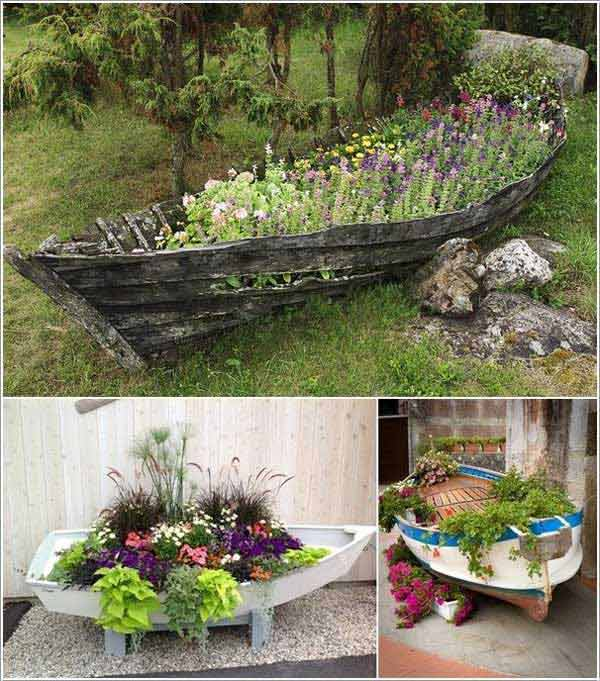 15 Insanely Beautiful and Creative Ways to Reuse Old Boats in Design homesthetics decor (8)