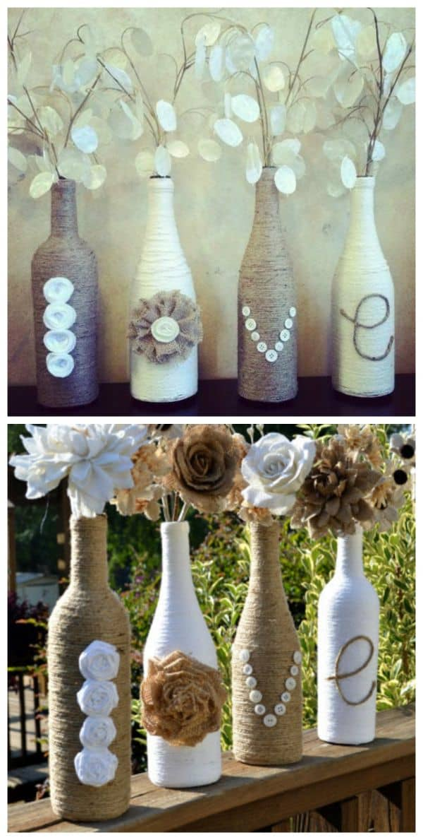 15 Wine Bottle Crafts Ideas For The Collector In You (10)