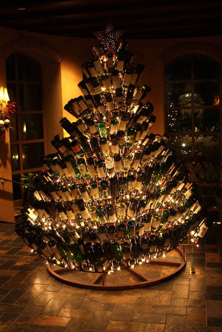 15 Wine Bottle Crafts Ideas For The Collector In You (13)