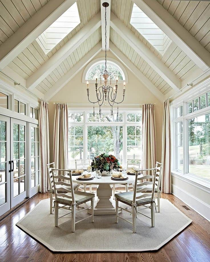 16 Ways To Add Decor Your Vaulted Ceilings Homesthetics 11