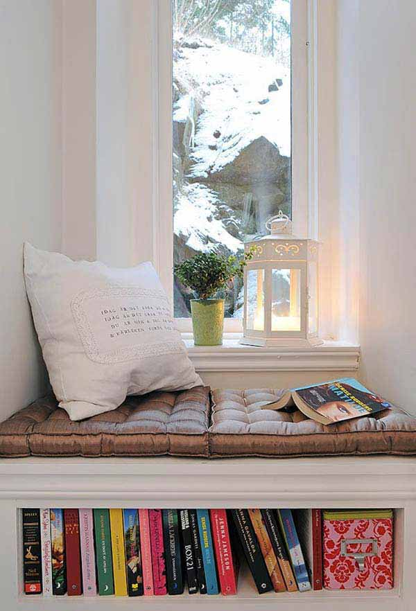 19 Beautiful and Cozy Reading Nooks For Your Home homesthetics decor (12)