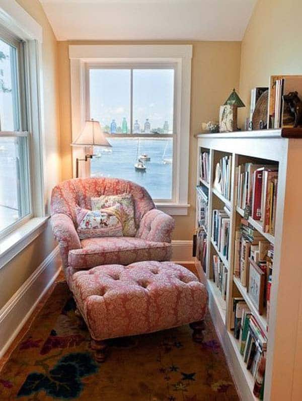 Home Library Room: 18 Beautiful And Cozy Reading Nooks For Your Home