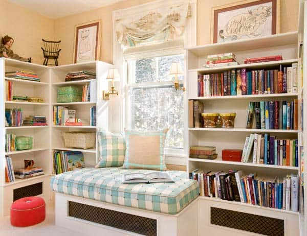 19 Beautiful and Cozy Reading Nooks For Your Home homesthetics decor (18)