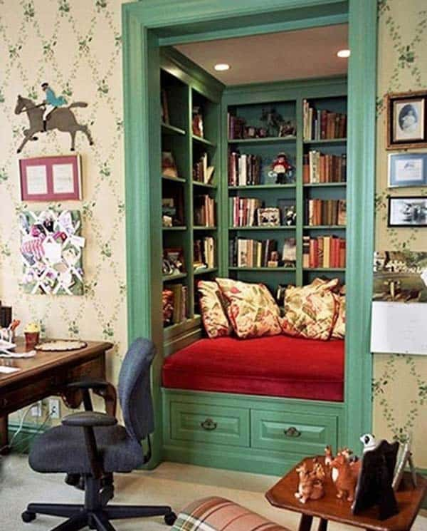 19 Beautiful and Cozy Reading Nooks For Your Home homesthetics decor (4)