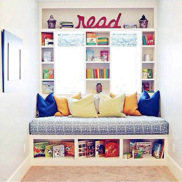 19 Beautiful and Cozy Reading Nooks For Your Home homesthetics decor (9)