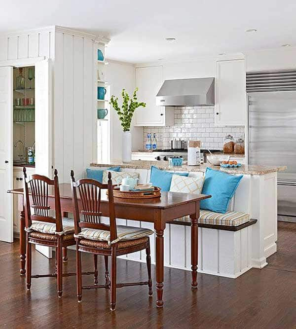 19 Neat Useful Kitchen Isles Designs With Seating Options Included homesthetics decor (15)