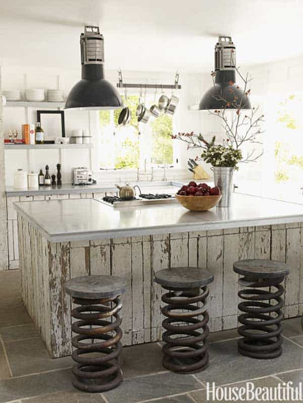 19 Neat Useful Kitchen Isles Designs With Seating Options Included homesthetics decor (5)