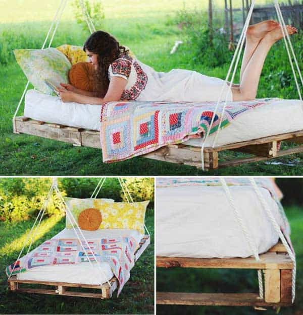 19 Relaxing Suspended Outdoor Beds That Will Transform Your Summer homesthetics decor (6)