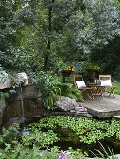 19 Simply Breathtaking Backyard Pond Designs to Materialize Between Greenery homesthetics decor (11)