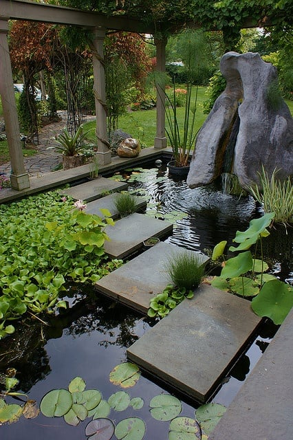 19 Simply Breathtaking Backyard Pond Designs to Materialize Between Greenery homesthetics decor (14)