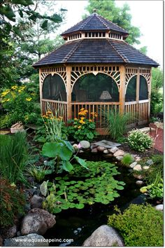 19 Simply Breathtaking Backyard Pond Designs to Materialize Between Greenery homesthetics decor (16)