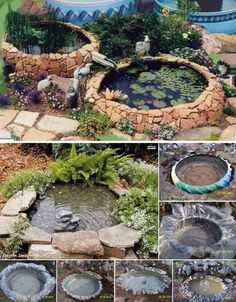 19 Simply Breathtaking Backyard Pond Designs to Materialize Between Greenery homesthetics decor (19)