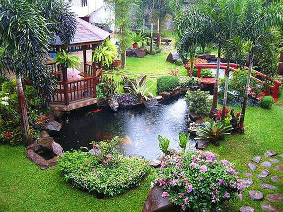19 Simply Breathtaking Backyard Pond Designs to Materialize Between Greenery homesthetics decor (2)