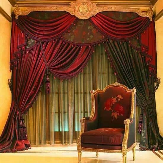 20 BEAUTIFULLY DESIGNED DRAPES OF YOUR CHOOSING TO ADD TO YOUR HOME'S DECOR (31)