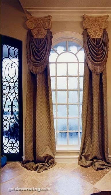 20 BEAUTIFULLY DESIGNED DRAPES OF YOUR CHOOSING TO ADD TO YOUR HOME'S DECOR (3)