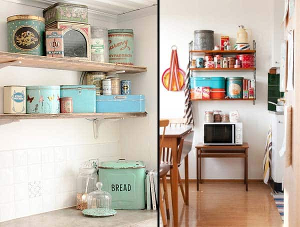 21 Creative Ideas on How to Add a Vintage Touch to Your Kitchen homesthetics decor (1)