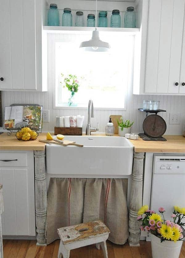 21 Creative Ideas on How to Add a Vintage Touch to Your Kitchen homesthetics decor (10)