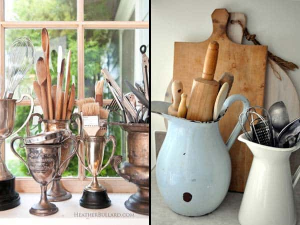 21 Creative Ideas on How to Add a Vintage Touch to Your Kitchen homesthetics decor (14)