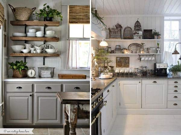 21 Creative Ideas on How to Add a Vintage Touch to Your Kitchen homesthetics decor (17)