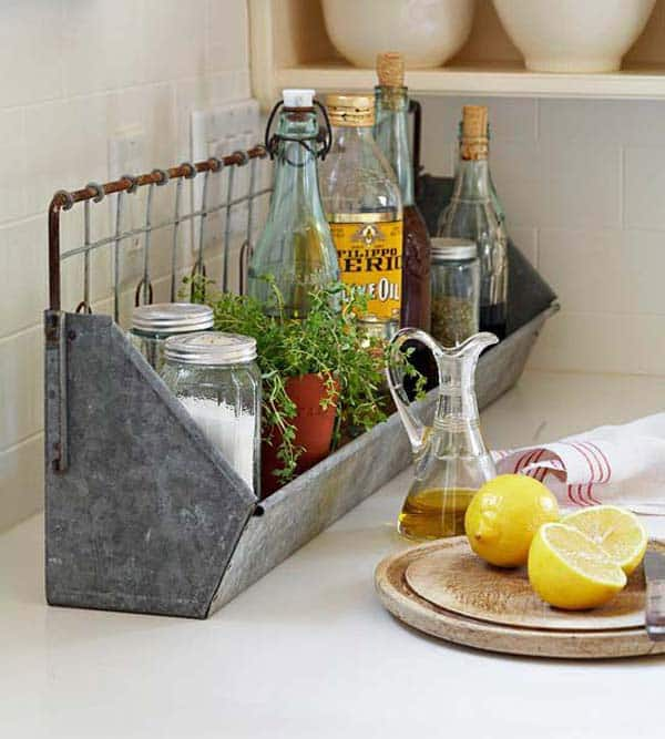 21 Creative Ideas on How to Add a Vintage Touch to Your Kitchen homesthetics decor (23)