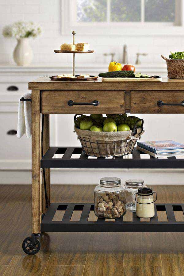 21 Creative Ideas on How to Add a Vintage Touch to Your Kitchen homesthetics decor (8)