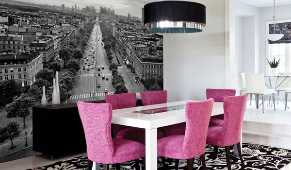 22 Cool Dinning Rooms Transformed Beautifully By Wall Murals Homesthetics  Decor (1) Part 76