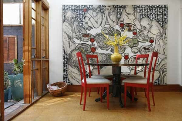 22 Cool Dinning Rooms Transformed Beautifully by Wall Murals homesthetics decor (10)